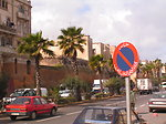 The walls of Old Medina in Casablanca, picture taken in March 2005