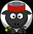 Battery sheep