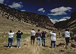 Viewing Bighorn Sheep in Home Creek Canyon at Steens Mountain in Southeastern Oregon.