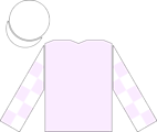 The en:racing silks of Anthony Pakenham, as worn by the jockey of en:Sir Percy to victory in the en:2006 Epsom Derby.