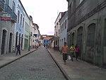 Português:  Rua do Centro Histórico de São Luís, próximo à Praia Grande. Street of the Historical Centre of São Luís, near to Praia Grande. Español:  Calle del centro histórico de São Luís, cerca de la Praia Grande.