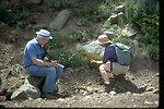 "Botanizing"" at Steens Mountain in Southeastern Oregon."
