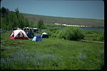 Camping at Fish Lake Campground on Steens Mountain in Southeastern Oregon.