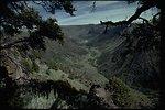 Big Indian Gorge along Steens Mountain, Oregon.