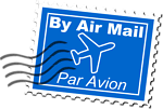 Air Mail Postage Stamp