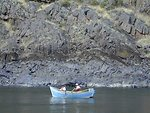 Recreation  Dory boat on Lower Salmon River  Cottonwood Field Office  UCSC  Upper Columbia Salmon Clearwater District