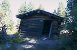 Historic cabin in Coloma Ghost Town