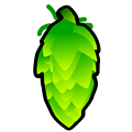 Hop Cone Illustration