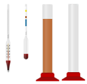 Homebrewing Hydrometers and Cylinders