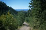 Bear Gulch--scenic view from road