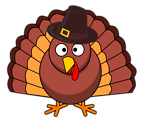 Turkey With Brown Hat