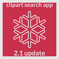 Clipart Search Android App Version 2.1