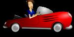 Brunette Female Driver