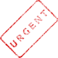 Urgent Business Stamp 2