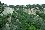 The rimrocks south of Billings MT above the Yellowstone River