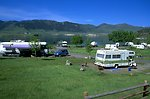 Camping at Holter Lake Campgrounds near Wolf Creek MT