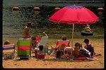 Loon Lake beach.