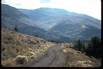 Steens Mountain National Back Country Byway in the Rooster Comb grade area of Little Indian Canyon.