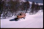 NRCS snow survey on Steens Mountain near Fish Lake.