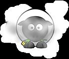 Dusty sheep