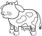 Cow Outline