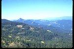 Pilot Rock and a bald spot on Soda Mountain.