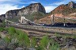 Coal production near Price, Utah.