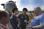 U.S., Russian airmen meet during Singapore Airshow 2012