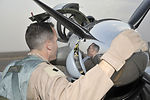 Iraqi air force pilots train with T-6A