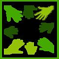 eco green solidarity icon