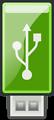 USB Green - Tango style