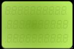 LCD-display-green