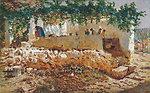 Washerwomen. Oil on canvas, 62 x 98 cm, Inv. CTB.2008.8    Museo Carmen Thyssen         Native name Museo Carmen Thyssen   Location Málaga, Spain    Coordinates 36°43′17″N, 4°25′22″W      Established 2011   Website www.carment