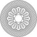 Guilloche Rosette 2