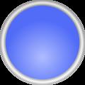 Shiny Blue Circle