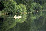 Canoe on the Hult Reservoir.