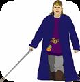 Merlin With Sword
