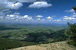 Scenic view of the Judith Mountains area