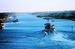 NOAA Ship FERREL in Intracoastal Waterway north of Charleston