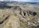 Recreation on the Boise Front  Foothills  Aerial  Four Rivers Field Office  LSRD  Lower Snake River District