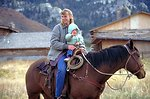 Working cowboys living near Vernal, Utah.