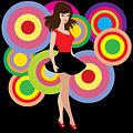 60s disco girl
