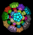 4D virtual 120 cell sequential move puzzle
