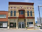 115 West Court Square in Princeton, KY. The building, now owned by Princeton One Hour Cleaners, is part of the historic commercial district of downtown Princeton. The building, built in 1899, was the former location of Princeton's Masonic lodge.