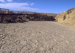 View of tracksite at Red Gulch Dinosaur Tracksite along Red Gulch/Alkali Back Country Byway, Worland.
