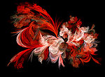 Red and white fractal