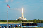 Ares I-X test rocket launched