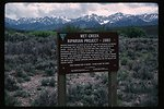 Wet Creek riparian project  Idaho Falls Field Office  USRD  Upper Snake River District