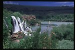 Scenic waterfall  Fall Creek Falls  Snake River Canyon  USRD  Upper Snake River District