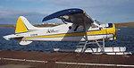 C-FGYN Adlair Aviation Ltd. de Havilland Beaver (DHC2) Mk.I at the Adlair Float Base, Cambridge Bay, Nunavut, Canada.